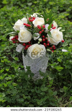 holiday wedding bouquet