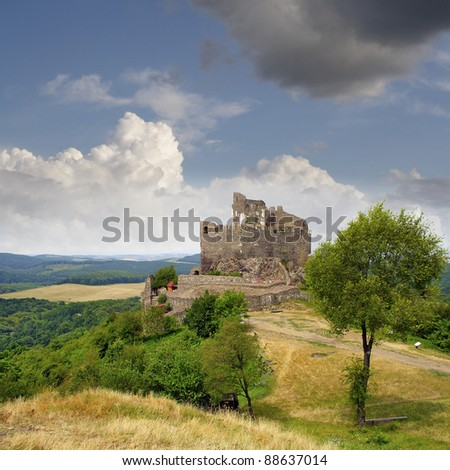 Hollók? Castle (Ravenstone Castle) was first mentioned in documents of the 13th century. Holloko - UNESCO World Heritage Site, Hungary