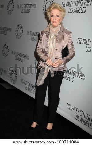"Holland Taylor at ""Two and a Half Men"" at PaleyFest 2012, Saban Theater, Beverly Hills, CA 03-12-12"