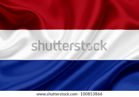 Holland  waving flag