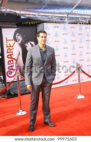HOLLYWOOD - APRIL 12, 2012: Desperate Housewives Jesse Metcalfe walks the red carpet opening night of the TCM Classic Film Festival held at Grauman's Chinese Theatre in Hollywood, CA April 12, 2012.
