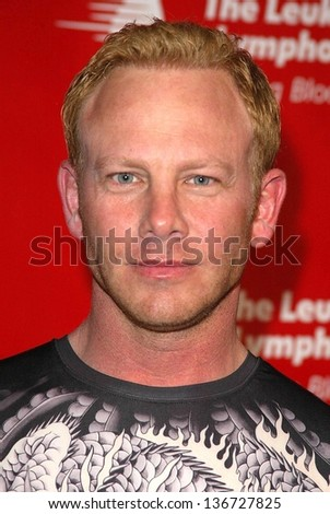 HOLLYWOOD - APRIL 06: Ian Ziering at the 2nd Annual Celebrity Rock 'N' Bowl Tournament at Lucky Strike Lanes on April 06, 2006 in Hollywood, CA.