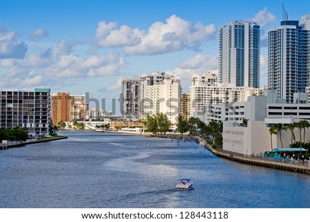 Hollywood Beach Skyline, Florida