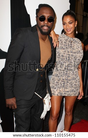 HOLLYWOOD, CA - AUGUST 13: Will.i.am and Nicole Scherzinger  arrive at the will.i.am Album Wrap Party at The Avalon on August 13, 2012 in Hollywood, California.