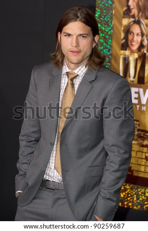 "HOLLYWOOD, CA - DECEMBER 5: Actor Ashton Kutcher arrives at the premiere of ""New Year's Eve"" at Grauman's Chinese Theater on December 5, 2011 in Hollywood, California"