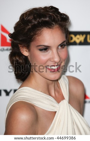 HOLLYWOOD, CA. - JANUARY 16: Daniela Ruah from NCIS Los Angeles