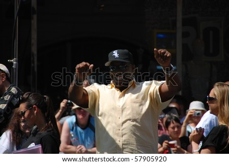 HOLLYWOOD, CA-JULY 25: Actor Michael Clark Duncan arrives at the Cats & Dogs: The Revenge Of Kitty Galore\' Los Angeles Premiere at Grauman\'s Chinese Theatre on July 25, 2010 in Hollywood, California.