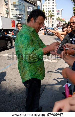 HOLLYWOOD, CA-JULY 25: Actor Paul Rodriguez arrives at the \'Cats & Dogs: The Revenge Of Kitty Galore\' Los Angeles Premiere at Grauman\'s Chinese Theatre on July 25, 2010 in Hollywood, California.