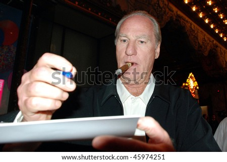 """HOLLYWOOD, CA- JUNE 1: Actor Craig T. Nelson attends the premiere of the movie """"The Proposal"""" held at El Capitan Theatre in Hollywood, June 1, 2009 in Hollywood, CA."""