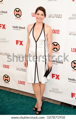 HOLLYWOOD, CA - JUNE 26: Dorian Brown arrives at FX Summer Comedies party at Lure on June 26, 2012 in Hollywood, California.