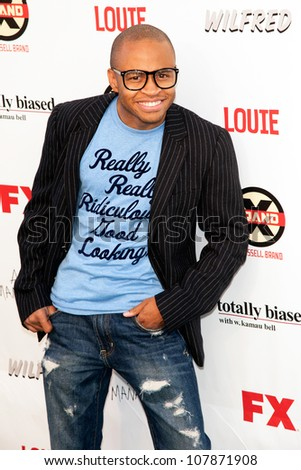 HOLLYWOOD, CA - JUNE 26: Eugene Byrd arrives at FX Summer Comedies party at Lure on June 26, 2012 in Hollywood, California.