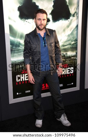 HOLLYWOOD, CA - MAY 23: Alex Feldman arrives at the Special Fan Screening of Chernobyl Diaries at the Cinerama Dome on May 23, 2012 in Hollywood, California.