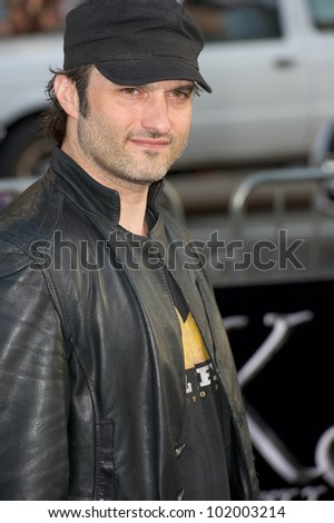 HOLLYWOOD, CA - MAY 7: Director Robert Rodriguez arrives at the premiere of the Warner Bros. Pictures' Dark Shadows on May 7, 2012 in Hollywood, California.
