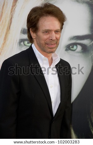 HOLLYWOOD, CA - MAY 7: Producer Jerry Bruckheimer arrives at the premiere of the Warner Bros. Pictures Dark Shadows on May 7, 2012 in Hollywood, California.
