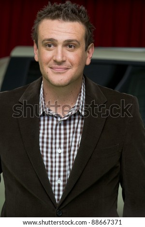 "HOLLYWOOD, CA - NOVEMBER 12: Actor, screenwriter and producer Jason Segel arrives at the Los Angeles premiere of ""The Muppets"" held at the El Capitan Theater on November 12, 2011 in Hollywood, CA"