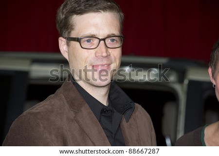 """HOLLYWOOD, CA - NOVEMBER 12: PIxar director Angus MacLane arrives at the Los Angeles premiere of """"The Muppets"""" held at the El Capitan Theater on November 12, 2011 in Hollywood, CA"""