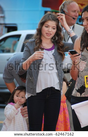 HOLLYWOOD, CA- OCTOBER 2: Actress Jadin Gould arrives at Disney's Film Beauty and The Beast Sing-Along at the El Capitan Theatre on October 2, 2010 in Hollywood, California.