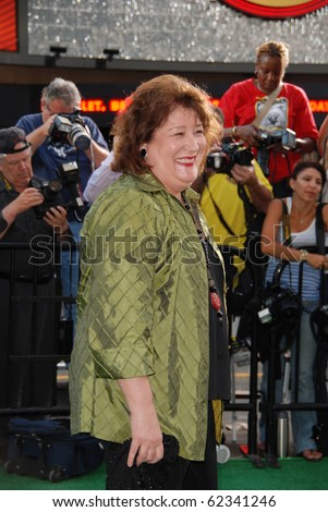 HOLLYWOOD, CA- SEPTEMBER 30: Actress Margo Martindale arrives at the premiere of the Walt Disney Pictures film the 'Secretariat', at The El Capitan Theater in Hollywood on September 30, 2010.