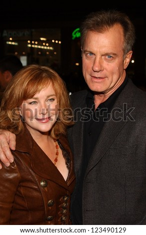 "HOLLYWOOD - DECEMBER 06: Faye Grant and Stephen Collins at the premiere of ""Blood Diamond"" Grauman's Chinese Theatre December 06, 2006 Hollywood, CA."