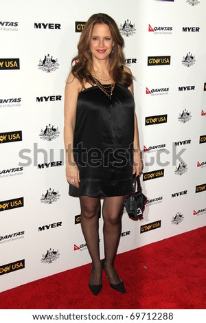 HOLLYWOOD - JAN. 22:Kelly Preston arrives at the 2011 G'Day USA Los Angeles Gala on January 22, 2011 in Hollywood, CA
