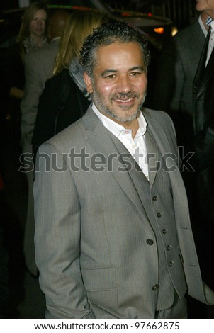 """HOLLYWOOD - JANUARY 25: John Ortiz arrives at the Los Angeles premiere of HBO's drama series """"LUCK"""" on January 25, 2012 at Grauma's Chinese Theater in Hollywood, CA."""