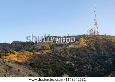Hollywood Sign Hike #1149542582