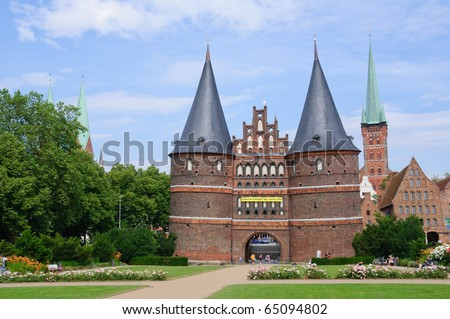 Holsten Gate - Lübeck, Germany