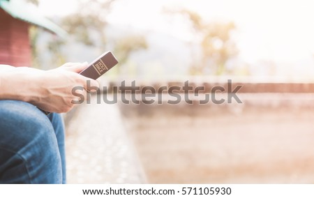 Holy bible,Teenager man holding Holy bible ready for read and have relationship with god faith, spirituality and religion concept. - Shutterstock ID 571105930
