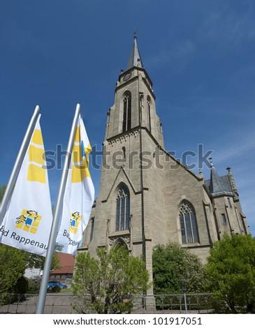 Holy Christ church Bad Rappenau, Germany