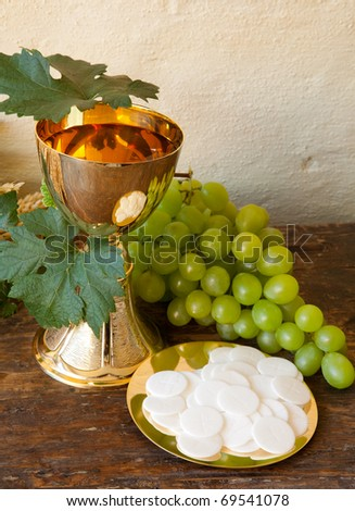 Holy communion ... Clipart Communion Bread And Wine