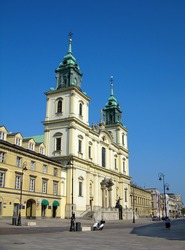Holy Cross Church (Kosciol Swietego Krzyza), Warsaw, Poland
