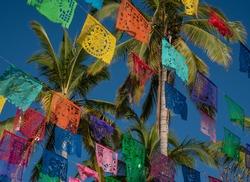 Holy day at Todos Santos Mexican Town