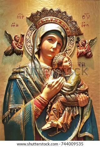 holy mary statue