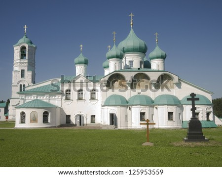 Holy Trinity Monastery of Svirsky the Transfiguration Cathedral