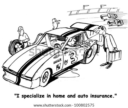 home and auto insurance for race driver