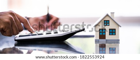 Home Appraiser Appraisal. Real Estate House Tax Сток-фото ©