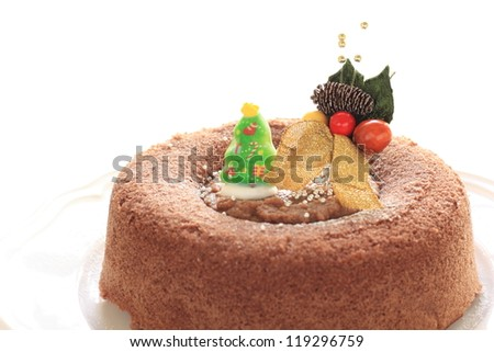 home bakery Christmas cake