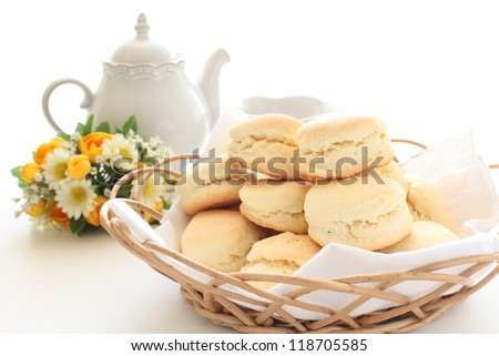 home bakery food, scone English breakfast image