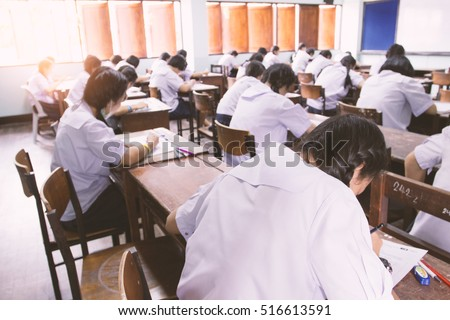 Home Board Write China Forms Sit Dip Skirt Tests Dress Knock Work Office Sailor Asia Read Room Shorts Shirts Sheets Pens Chair Grade Rear Asian Teens Girls Child Back China Crowd Boys Male Class Young