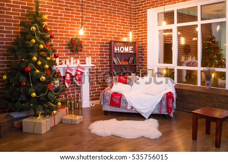 Home Christmas atmosphere