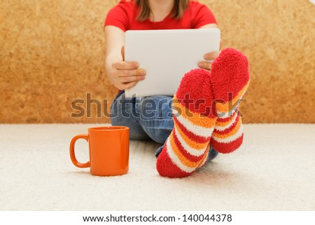 Home comfort with digital tablet