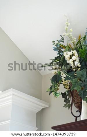 home decor floral arrangement unique angles