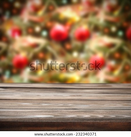 home decoration of holiday time and desk of retro chic