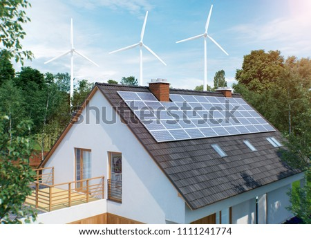 home electricity generation with solar and wind future of energy off grid #1111241774
