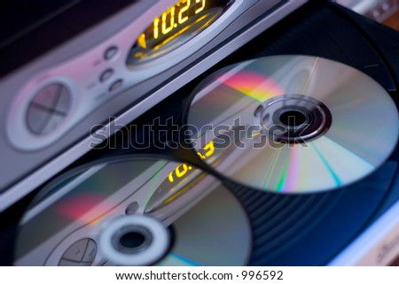 Home Entertainment - stock photo