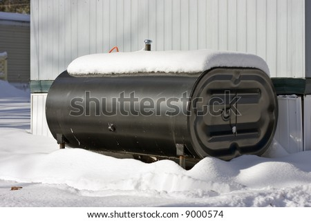 Heating Oil Tanks http://www.shutterstock.com/pic-9000574/stock-photo-home-heating-oil-tank-outside-of-house.html