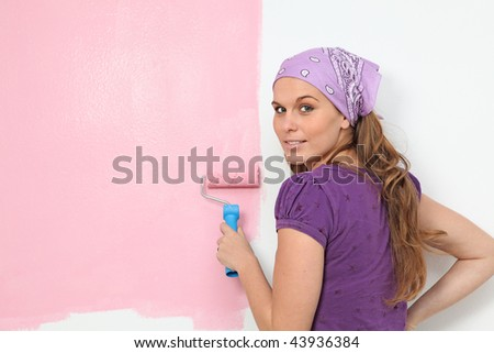 home improvements,painting babies room