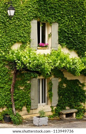 Home in Provence - stock photo