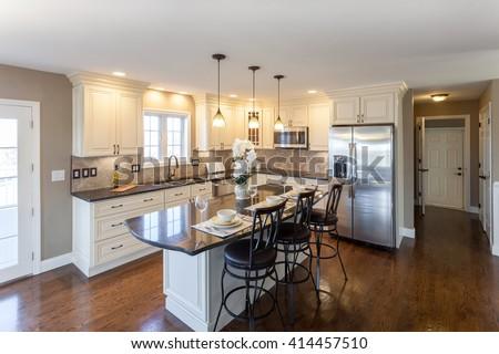 Home Kitchen Interior