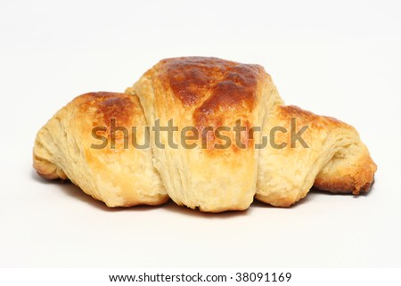 Home made croissant
